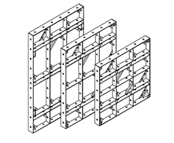 universal shield small-panel formwork