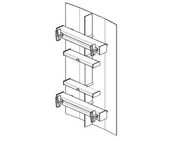 Shield compensator linear small-panel formwork