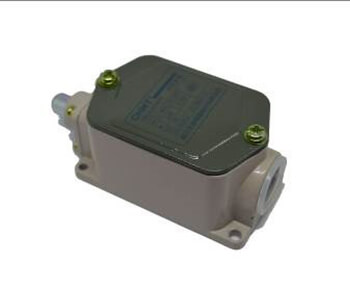 Limit switch with button