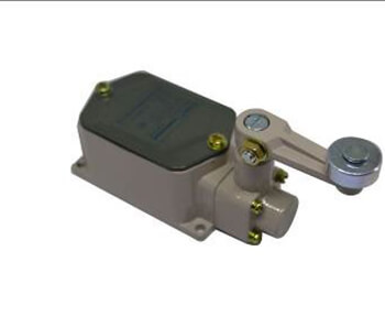 Limit switch with lever