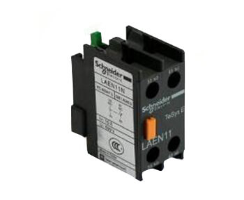 Contact block to contactor