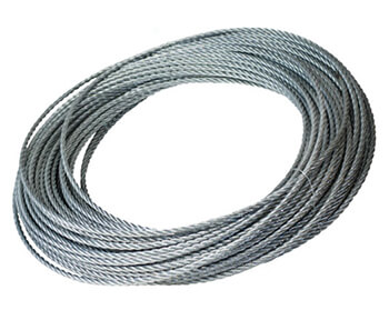 Steel cable 8.3 mm